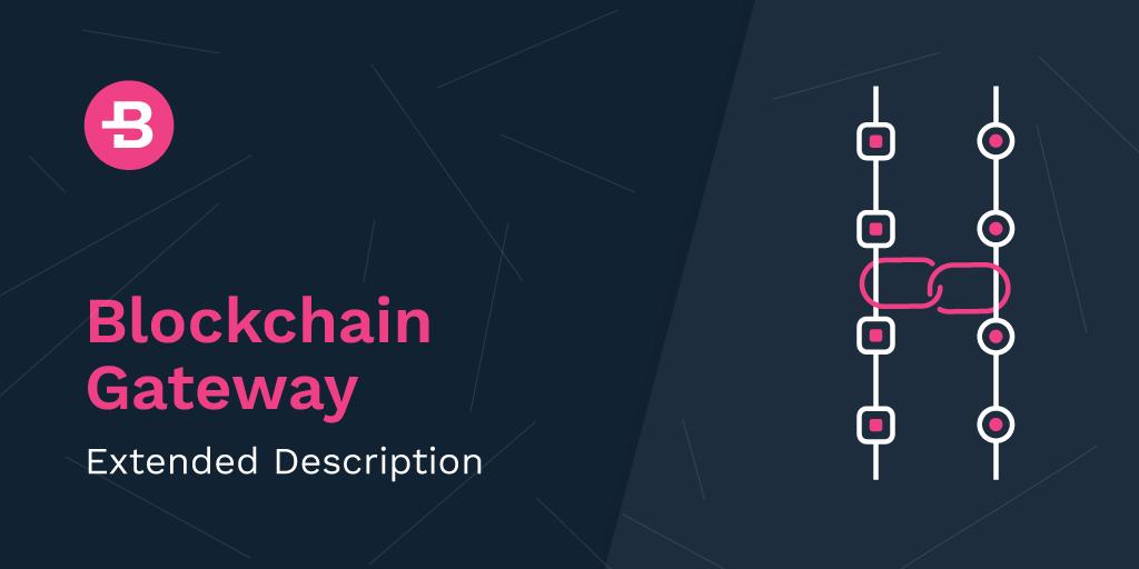 Blockchain Gateway: Extended Description