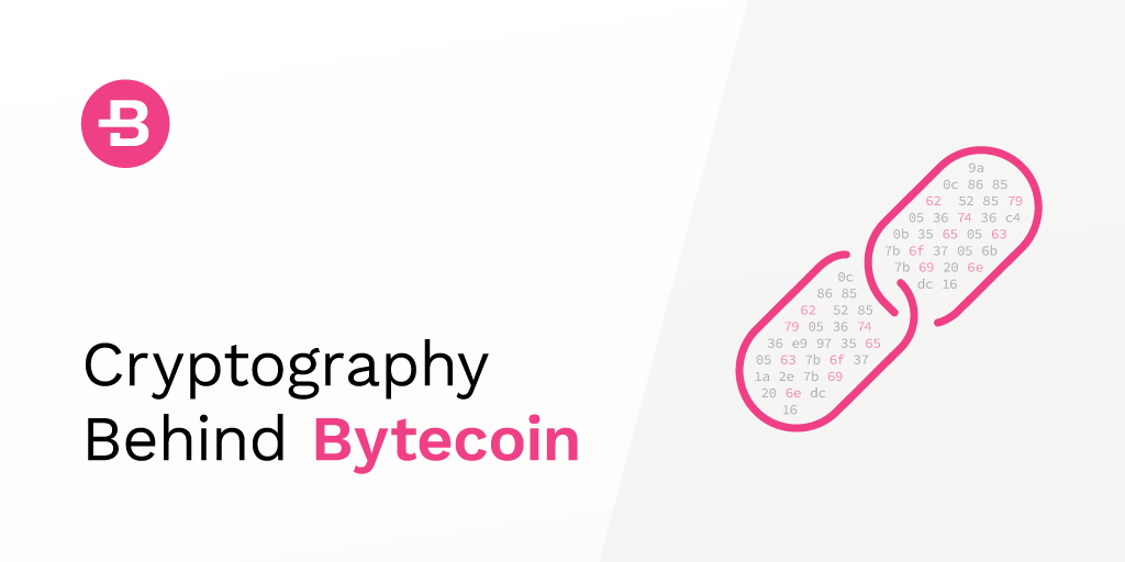 Cryptography behind Bytecoin