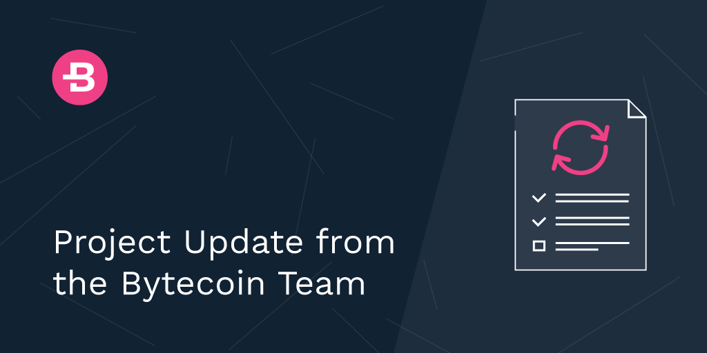 Project Update from the Bytecoin Team