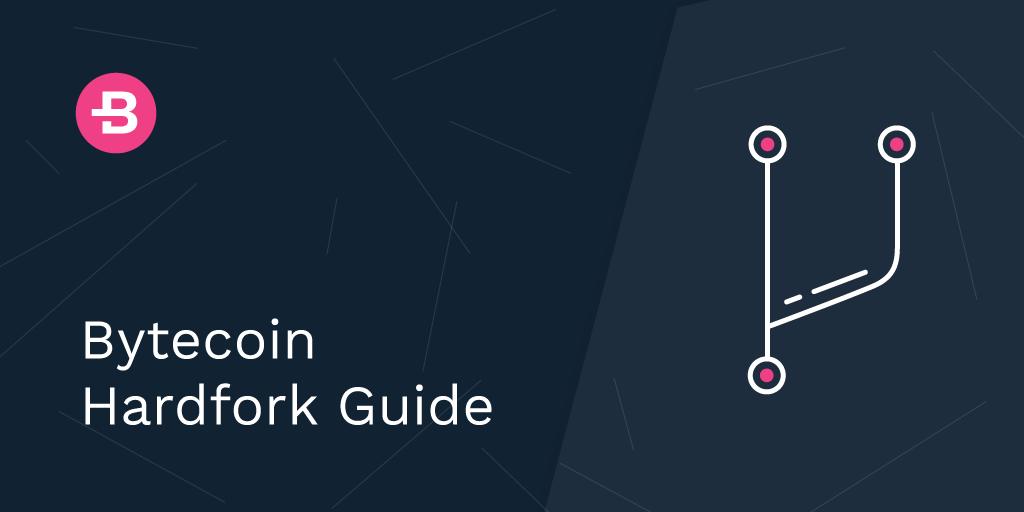 Bytecoin Hardfork Guide