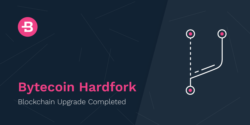 Hardfork Announcement: Blockchain Upgrade Completed
