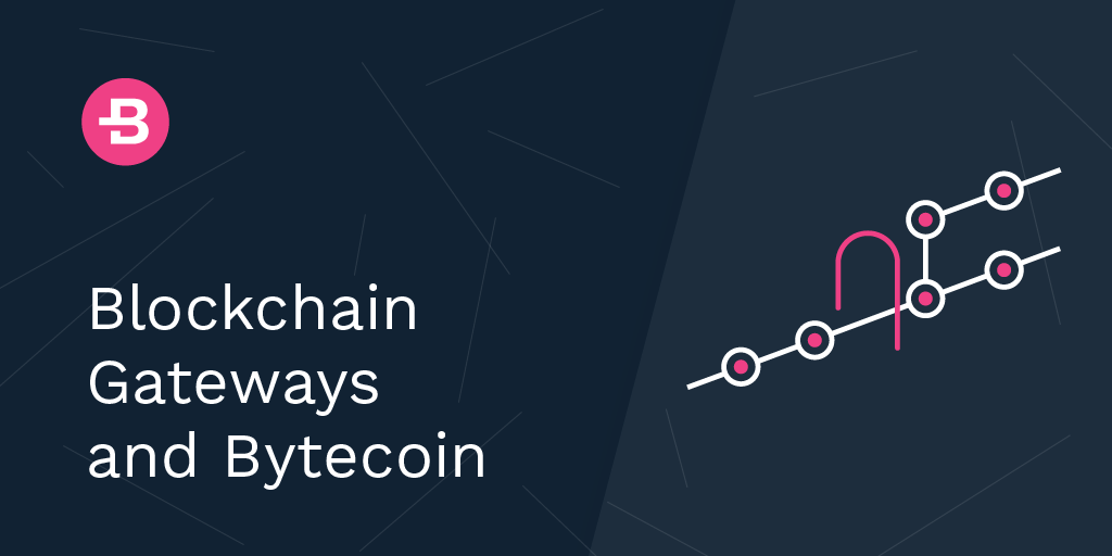 Blockchain Gateways and Bytecoin